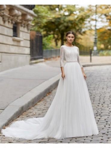 Tyrell - abito da sposa collezione 2021 - Rosa Clarà