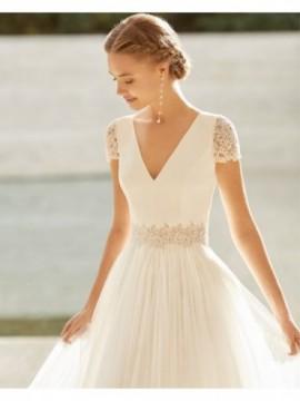 Ecuador - abito da sposa collezione 2020 - Rosa Clarà Couture