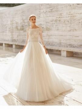 Edna - abito da sposa collezione 2020 - Rosa Clarà Couture