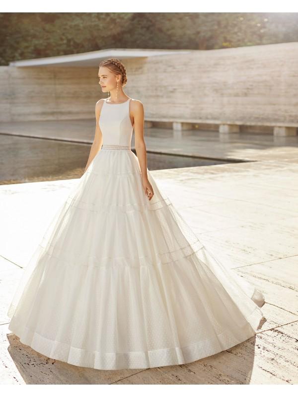 Elisenda - abito da sposa collezione 2021 - Rosa Clarà Couture