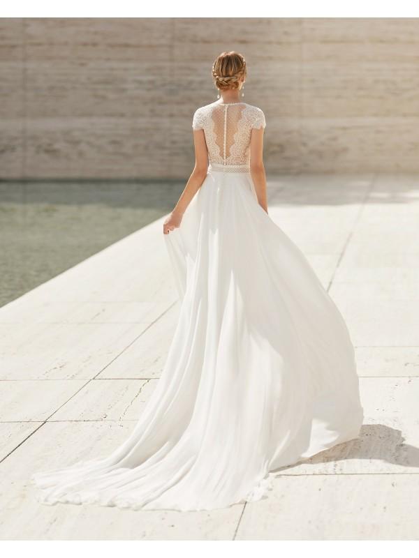 Elton - abito da sposa collezione 2021 - Rosa Clarà Couture