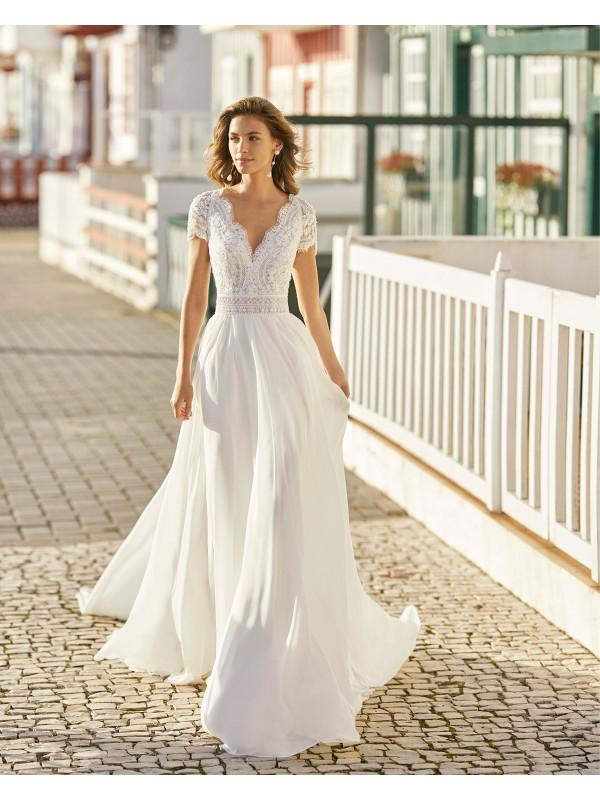 Halia - abito da sposa collezione 2021 - Rosa Clarà Soft