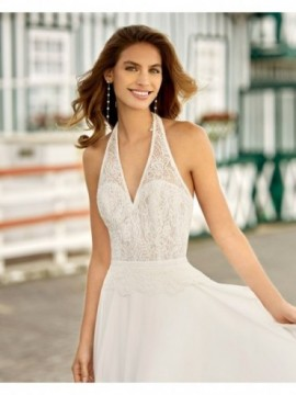 Halina - abito da sposa collezione 2020 - Rosa Clarà Soft