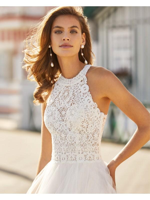 Hanna - abito da sposa collezione 2021 - Rosa Clarà Soft