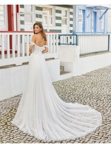 Hanya - abito da sposa collezione 2021 - Rosa Clarà Soft
