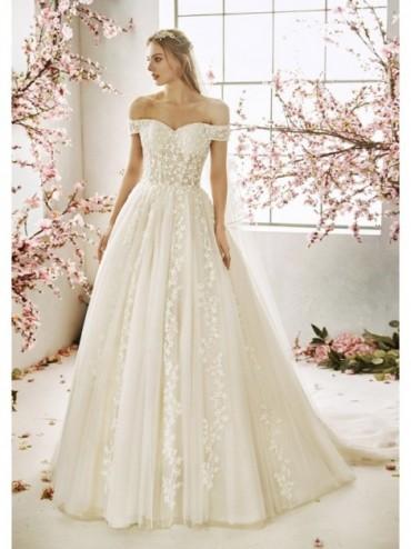 DONNA ADELE - abito da sposa Le Spose di Milano Shop Online  - Abito da sposa stile principessa con manichette.