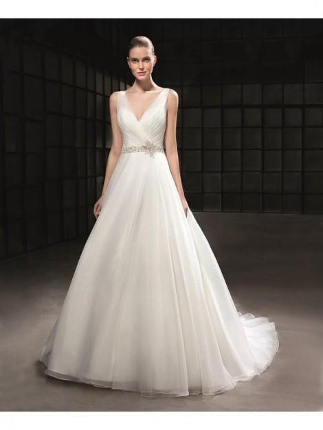 DONNA CATERINA - abito da sposa Le Spose di Milano Shop Online  - Taglio: Redingote