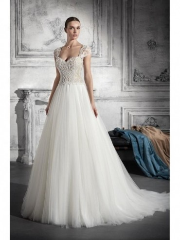 DONNA PATRIZIA - abito da sposa Le Spose di Milano Shop Online  - Silhouette a linea