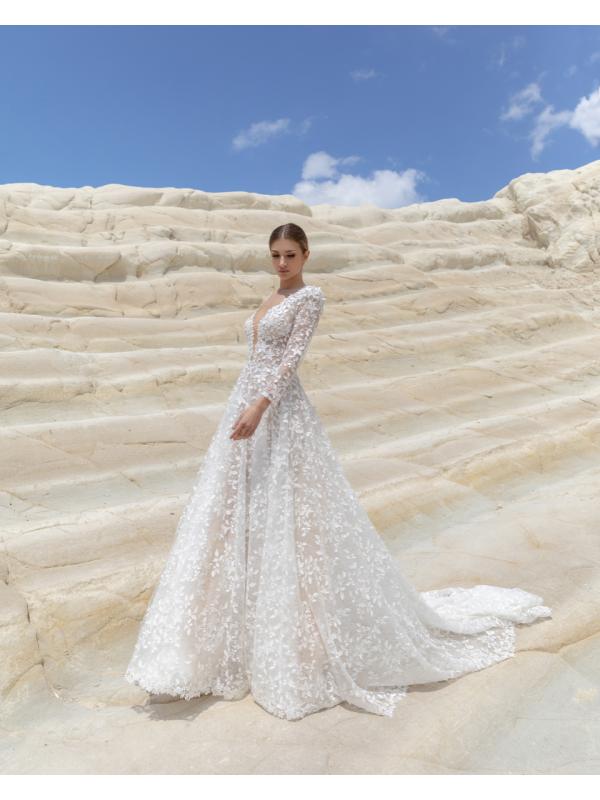CDM-49 - abito da sposa collezione 2021 - Claudio Di Mari