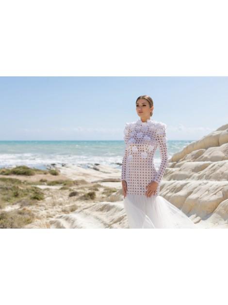CDM-91 - abito da sposa collezione 2021 - Claudio Di Mari