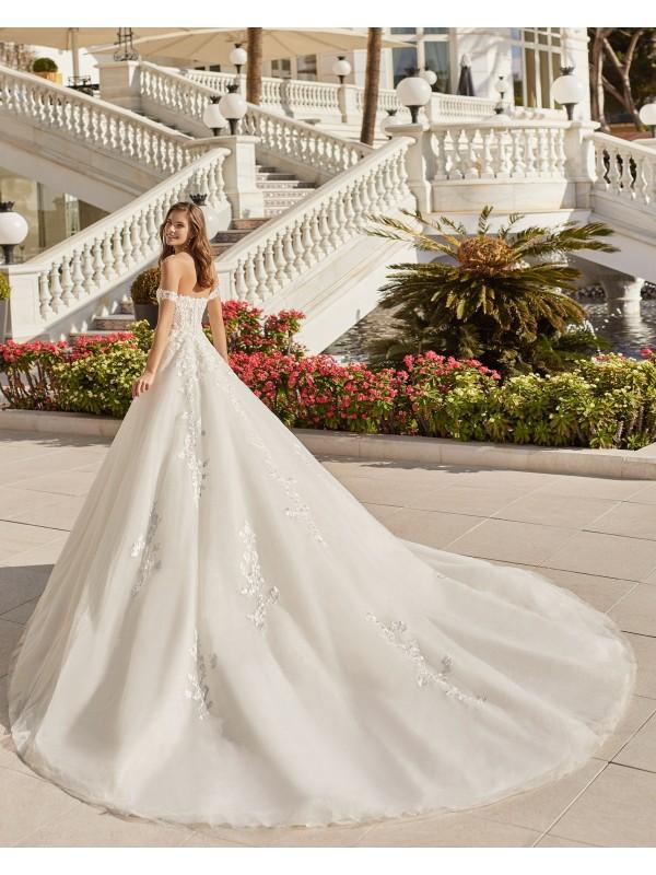 DELCY - abito da sposa collezione 2022 - AIRE BARCELONA