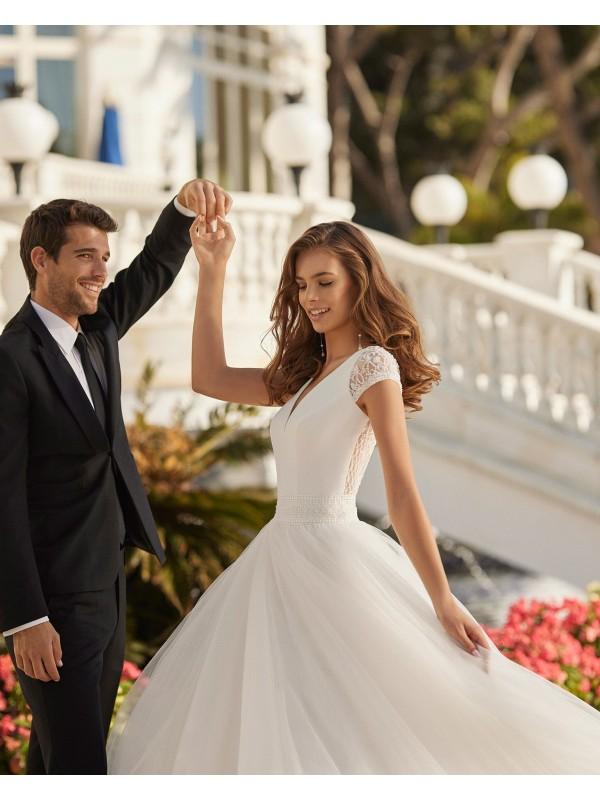 DIANA - abito da sposa collezione 2022 - AIRE BARCELONA