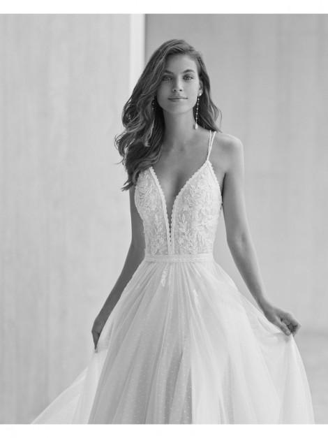 GANDIA - abito da sposa collezione 2022 - ROSA CLARA SOFT