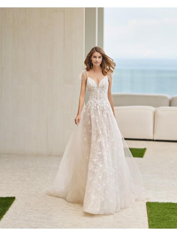 GARBI - abito da sposa collezione 2022 - ROSA CLARA SOFT