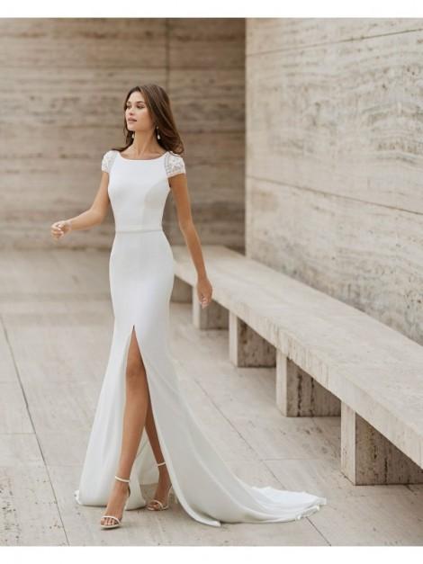 NAIN - abito da sposa collezione 2022 - ROSA CLARA