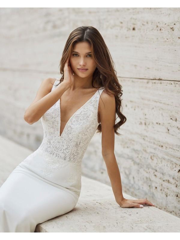 NASYA - abito da sposa collezione 2022 - ROSA CLARA