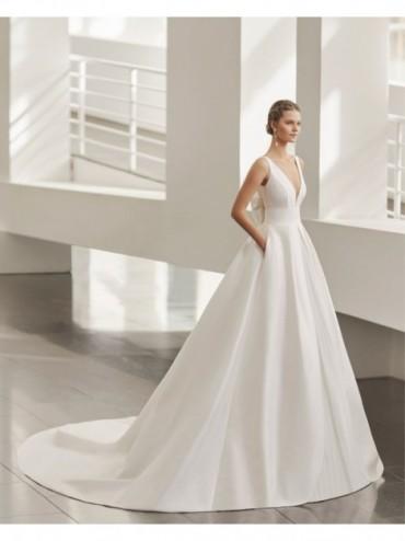 NUWA - abito da sposa collezione 2022 - ROSA CLARA
