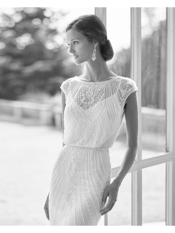 ORELL - abito da sposa collezione 2022 - ROSA CLARA GATSBY
