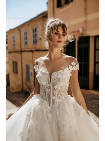 Annika - abito da sposa collezione 2022 - Millanova - Olives