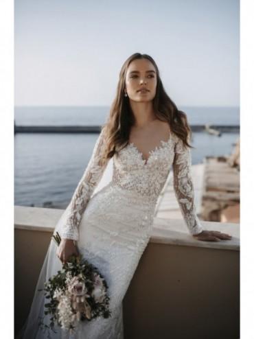 Aphrodite - abito da sposa collezione 2022 - Millanova - Olives