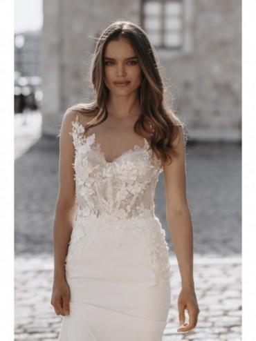 Ariana - abito da sposa collezione 2022 - Millanova - Olives