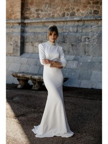 Aziza - abito da sposa collezione 2022 - Millanova - Olives