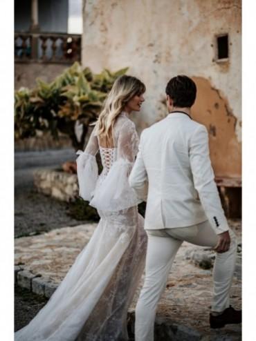 Azzura - abito da sposa collezione 2022 - Millanova - Olives