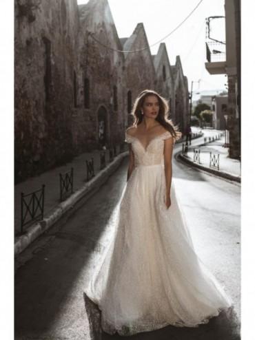 Catherine - abito da sposa collezione 2022 - Millanova - Olives