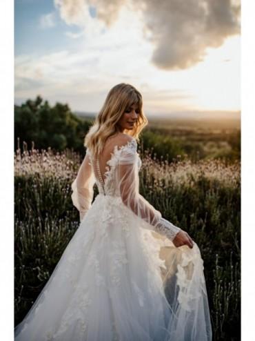 Dana - abito da sposa collezione 2022 - Millanova - Olives