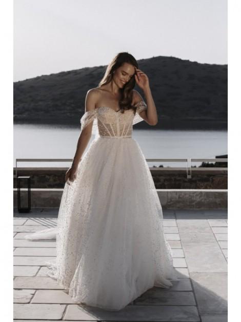 Evita - abito da sposa collezione 2022 - Millanova - Olives