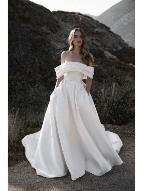 Hestia - abito da sposa collezione 2022 - Millanova - Olives