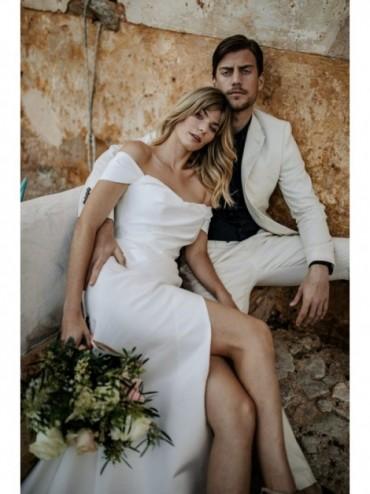 Lilit - abito da sposa collezione 2022 - Millanova - Olives