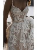 Melia - abito da sposa collezione 2022 - Millanova - Olives